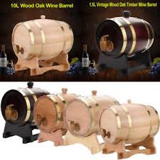 Oak wine barrel barrels whiskey Table Image Is Loading Woodenoakbarrelwoodkegwinebeerwhiskey Amazoncom Wooden Oak Barrel Wood Keg Wine Beerwhiskey Barrels Garden 35