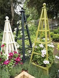 wooden garden obelisk gallery 1