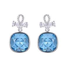 fashion jewelry whole crystals from swarovski earrings