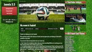 joomla football template. Joomla templates Topball 3 Football Free Joo