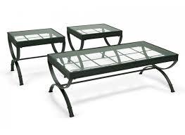 Emerson Black Coffee Table Set