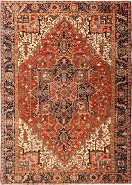 antique heriz serapi persian rugs 42916 detail large view