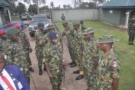 Nigerian soldiers charged on professionalism