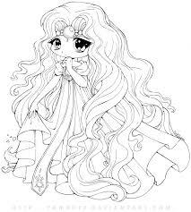 Kawaii Chibi Anime Coloring Pages