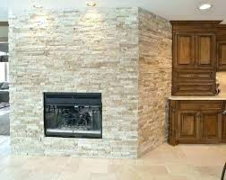 painted stone fireplace makeover faux rock stacked pictures home ideas white id dry stack river gallery