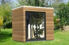 outdoor home office. work space entails a fabricated outdoor office in your own backyard home f