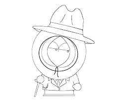 South Park Coloring Page Predragterziccom