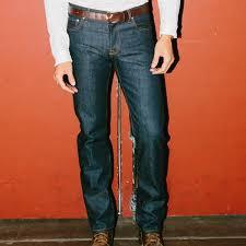 Buck Mason Size Chart Standard Fit Jean