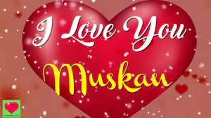 Good Morning Muskan Name - 1280x720 ...