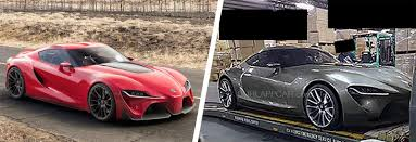 2018 toyota supra price. interesting price the upcoming supra right shares much of its styling with the ft1  concept pictured on left for 2018 toyota supra price