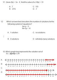 algebra practice test algebra 1 review worksheet