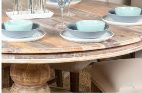 pretty inspiration round reclaimed wood dining table 32