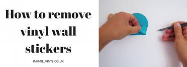 remove vinyl wall stickers a guide