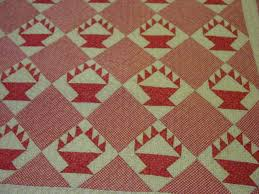 Small Scale Cactus Basket Quilt- Mint $795.00 | Cindy Rennels ... & closer view of the blocks Adamdwight.com