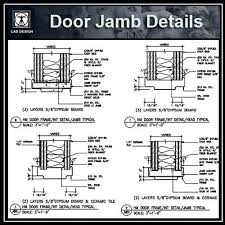door jamb. Beautiful Door Door Jamb Details  CAD Design  Download Drawings AutoCAD Blocks  Symbols To