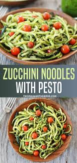 learn how cook zoodles for a healthy pasta alternative and use all that summer zucchini add fresh pesto to your zucchini pasta noodles for