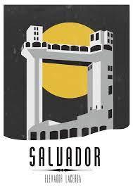 Elevador Lacerda (Salvador, Bahia, Brazil). | Elevador lacerda, Bahia,  Lindas paisagens