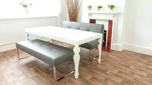 dining table with 4 chairs and one bench farmhouse set uk only modern benches backrest in