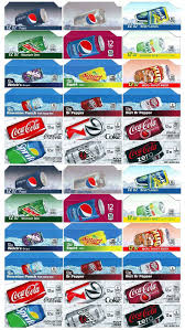 Printable Vending Machine Drink Labels New Qty 48 COKE OR SODA MACHINE VENDING VARIETY LABEL PACK Late Style