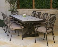 Tile Outdoor Table Patio Inserts Outside With