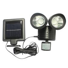 Innoo Tech Solar Motion Sensor Light Solar Powered Water Resistant Solar Powered Outdoor Security Light Motion Detection