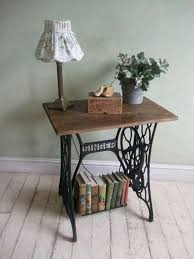 Vintage Sewing Machine Tables