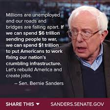 Bernie Sanders Quotes New Better World Quotes Bernie Sanders On Infrastructure