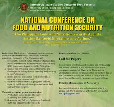 national conference on food and nutrition security aktivshow up food