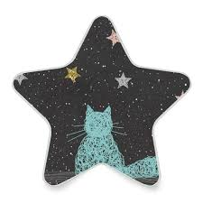 Cat Shaped Night Light Led Night Light Cat Or Dog Paws Star Pentagram Shaped