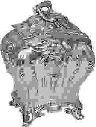 silver tea caddy with maker s mark c n hallmark for 1767 68 london