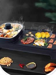 Bếp nướng điện, bếp nướng, bếp lẩu nướng không khói, nồi lẩu nướng điện đa  năng