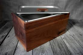 image of decorative countertop compost bin