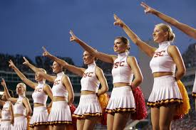 Image result for usc cheerleaders