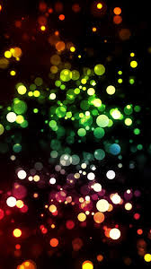 Color Bokeh Lights Rainbow Colors ...