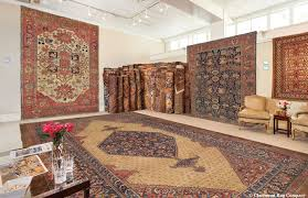 the private showroom at claremont rug company