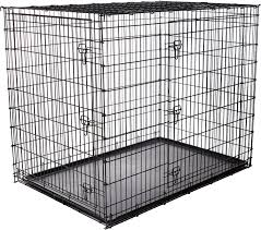 frisco xxlarge heavy duty double door dog crate in  chewycom