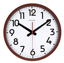 office wall clock.  Clock Large Number Commercial Office Wall Clock On Amazoncom