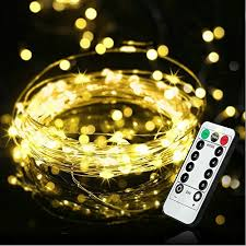 Timer 5m Battery Powered Fairy String Lights Remote Timer 5m 50