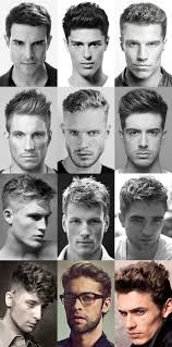 Mens Hair Types Chart Types Of Mens Hairstyle Bircanasansor