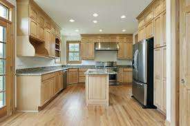 kitchens with wood floors and cabinets new alluring wood floors in kitchen interior