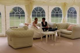 inflatable furniture. Wedding Furniture For Hire In Surrey, Bride And Groom Having A Drink Of Champagne To Inflatable P