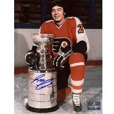 flyers stanely cup reggie leach stanley cup philadelphia flyers signed 8x10 photo