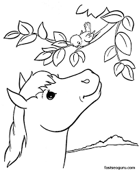 animals printable coloring pages funny coloring colouring pages