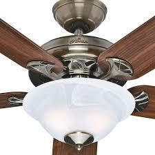 hunter brass ceiling fans. Contemporary Fans Hunter Brookline 52 In Indoor Antique Brass Ceiling Fan With Light Inside Fans