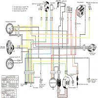 diagrama suzuki ts250 diagrama eléctrico wiring diagram suzuki ts250