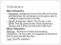 Rainsford Zaroff Venn Diagram The Most Dangerous Game Plot Diagram Lovely Character Analysis Essay