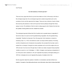 can the existence of god be proven gcse religious studies  document image preview