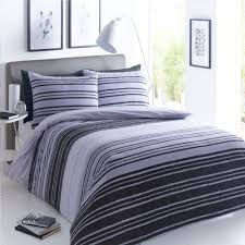 pieridae stripe duvet set bed quilt cover reversible pillowcase texture black grey double 259198 p5567 15300 image jpg
