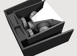 the design of a line array speaker cabinet which is versotile and the design of a line array speaker cabinet which is versotile and cheap