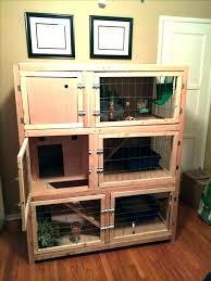 large indoor corner rabbit cage homemade cages diy best hutch indoor rabbit cage